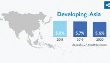 全球需求放缓拉低亚洲发展中国家增长前景