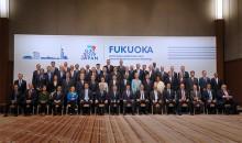 刘昆出席二十国集团财长和央行行长福冈会议