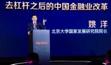 北大国发院姚洋:去杠杆之后的中国金融业改革